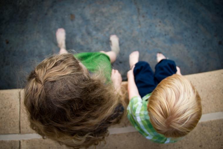 Feet in Fountain, Kelsey Johnson, Creation Swap